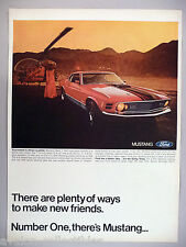 Ford Mustang PRINT AD - 1970