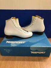 White Risport ice skates Junior Size 3