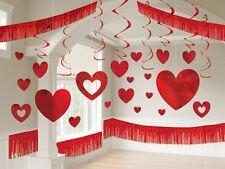 28 oggetto enorme sala S. Valentino Cuore Decorazione KIT STAFFE & Ghirlande Di Grande Valore