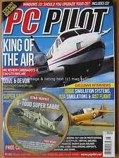 PC Pilot May June 2016 Carenado C90 GTX King Air ORBX A2A Just Flight