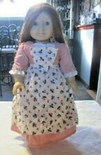 New ListingAmerican Girl Pleasant Company Felicity Doll with Spring Gown & Pinner Apron