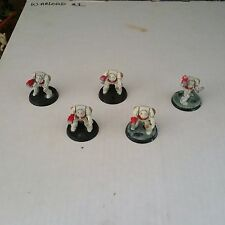 warhammer 40k Space Marine White Scars Terminator Squad Lot 5