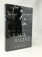 MARY S LOVELL A Rage To Live Richard and Isabel Burton 1st/1st UK Signed