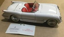 "FRANKLIN MINT 1:24 B11KC31 1953 CHEVROLET CORVETTE CONVERTIBLE ""NEW"" WITH TAGS"