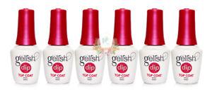 Gelish Dip Powder Essentials Step #4- TOP COAT 0.5 oz (PACK OF 6)
