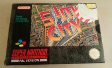 Super Nintendo SNES Sim City -  snes boxed game sim city