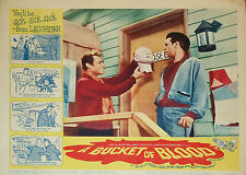 A Bucket of Blood 1959 Dick Miller, Barboura Morris, Comedy Horror DVD
