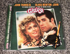"OLIVIA NEWTON-JOHN SIGNED AUTOGRAPHED GREASE ""SOUNDTRACK"" CD! TO CHRIS! TRAVOLTA"