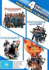 Police Academy 1 2 3 4 : NEW 4 Movies DVD