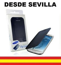 Funda Carcasa Para Samsung Galaxy S3 i 9300 Con Caja Flip Cover Tapa Libro azul