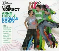 Cr2 Presents Live & Direct - Arno Cost & Norman Doray (3 x CD) New & Sealed