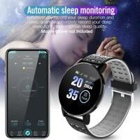 Smart Watch Bracelet Heart Rate Blood Pressure Monitor Tracker Fitness U8C9