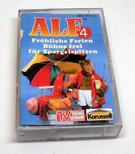 Alf Hörspielkassette MC - Folge Nummer 4 - Fröhliche Ferien + Bühne frei für..