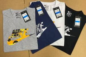 Nike T Shirt T-Shirt Air Max TShirt Short Sleeve Tops   -New release charcoal