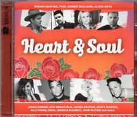 Heart & Soul (2 x CD) Kelly Clarkson/Pink/The Script/Cyndi Lauper/The Cars/Dido