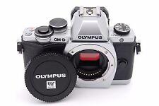 Olympus OM-D E-M10 17.2 MP Digital SLR Camera - Silver (Body Only)