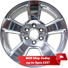 """New 20"""" Polished Wheel Rim for 2014-2018 Chevrolet Silverado 1500 Tahoe Suburban"""