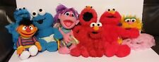 SESAME STREET PLUSH CHARACTERS Lot of 8