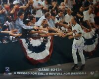 Cal Ripken autographed signed Orioles Game 2131 16x20 poster size photo IRONCLAD