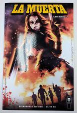 La Muerta Last Rites #1 Grindhouse Variant Cover - Coffin Comics - NM