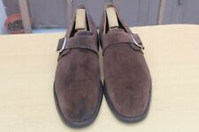 "CHAUSSURE CHURCH'S ""ADRIAN"" A BOUCLE DAIM 90 F 43 EXCELLENT ETAT MEN'S SHOE 598€"