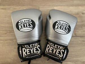 Cleto Reyes Platinum leather 10oz Sparring Gloves