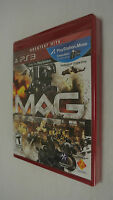 BRAND NEW Sealed MAG (Sony PlayStation 3, 2010)