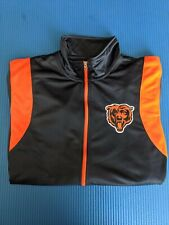 NFL TEAM APPAREL MEN'S CHICAGO BEARS FULL-ZIP TRACK JACKET NWT - FREE SHIPPING