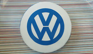 Madmatz Quality  VW T2 BAY Window Spare Wheel cover Off white / Regal Blue