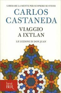LIBRO VIAGGIO A IXTLAN - CARLOS CASTANEDA