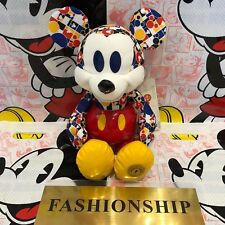 BNWT Disney Store 2018 Bold & Bright Mickey mouse memories March Plush Limited