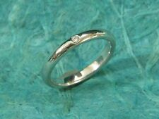 AUTHENTIC TIFFANY & CO PLATINUM DIAMOND ENGAGEMENT RING Size 6 IN ORIGINAL BOX