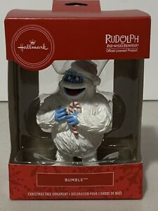 """Rudolph The Red-Nosed Reindeer """"Bumble"""" Abominable Snowmonster Ornament *New"""