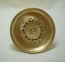 Vintage Greece Solid Brass Large Ornate Door Knob Handle Push/Pull #30