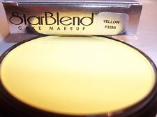 Mehron Yellow Star Blend Cake Pancake Water Base Stage Makeup Professional