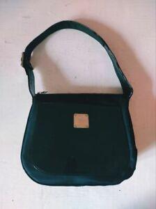 MCM Germany Authentic Vintage Women's Black Shoulder Bag