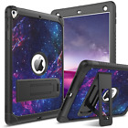 For iPad 5th/6th Generation iPad Air 2 Hybrid Rugged Shockproof Case Cover