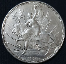 MEXICO 1910 $1 CABALLITO silver coin, long 9 on date, scarce, see imgs. for cond
