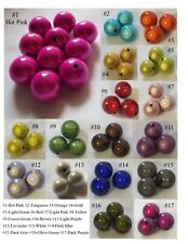 """3//8/""""x3//8/"""" 100 Hot Mixed Miracle Acrylic Oval Spacer Beads 11x8mm"""