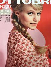 Ottobre Design Woman Schnittmuster  Frühjahr/Sommer Unbenutzt Und Vollständig
