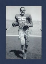 Dick Lynch signed Notre Dame football b&w photo