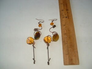 handcrafted earrings- artsian made