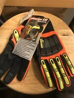 MAJESTIC ARMORSKIN X10 KNUCKLEHEAD 21242HO WORK GLOVES SIZE LARGE (1 PAIR)