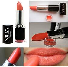 MUA Académie de maquillage rouge à lèvres ombre 16 Nectar pêche orange jamais
