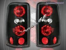 2000 2001 2002 2003 04 05 2006 Tahoe Suburban Denali Yukon Tail Lights JDM Black