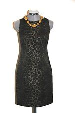 Ann Taylor leopard print sheath dress-sz 0P XSP Petite-NWT