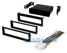 SUBARU CAR STEREO RADIO KIT DASH INSTALLATION TRIM BEZEL W/ WIRING HARNESS WRX