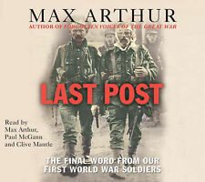 The Last Post by Max Arthur (CD-Audio book, 2007),RARE FIND STILL NEW SEALED !