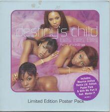 "DESTINY'S CHILD ""BILLS, BILLS, BILLS"" CD SINGLE 1999 uk"