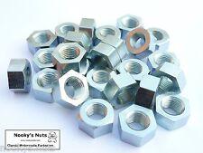 25 CEI BSCY Cycle Thread Nuts 3/8 used on BSA & Triumph etc
